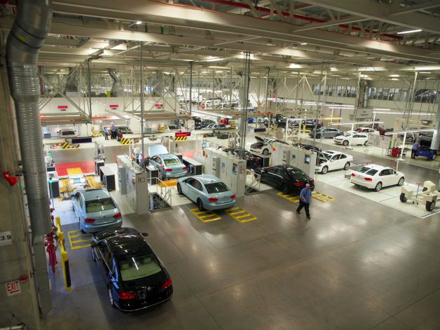 vw leed platinum plant