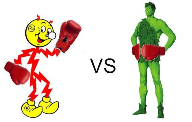 Ready Kilowatt vs Green Giant