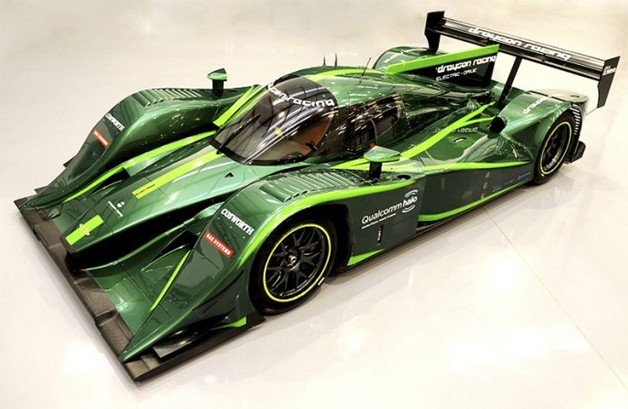 Lola-Drayson B12/69EV Lemans-type electric race car