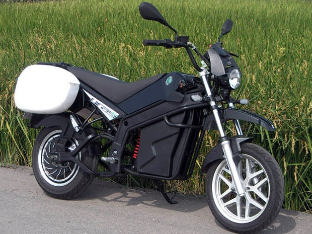 URAY electric motorcycle from Taiwan with rear hub motor