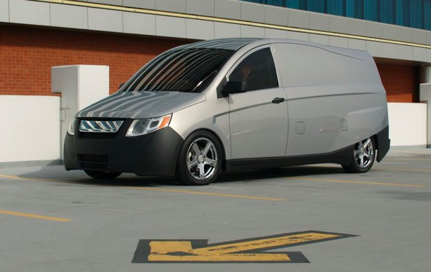 bright automotive plug-in hybrid van