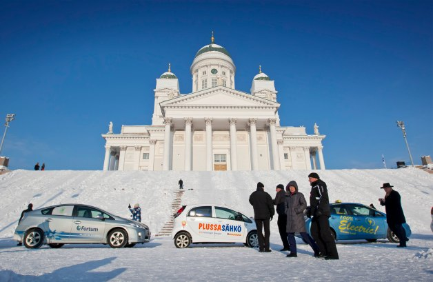 Electric Traffic Helsinki Test Bed project