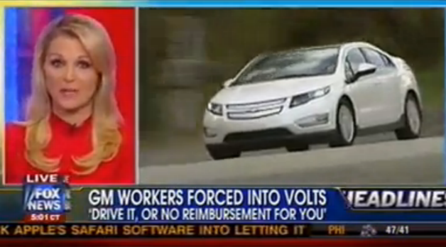 chevy volt on fox