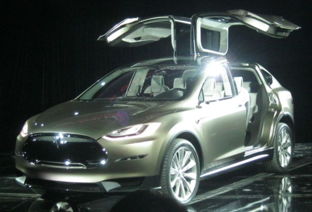 More On Tesla Model X Crossover EV Unveiled Set For Late