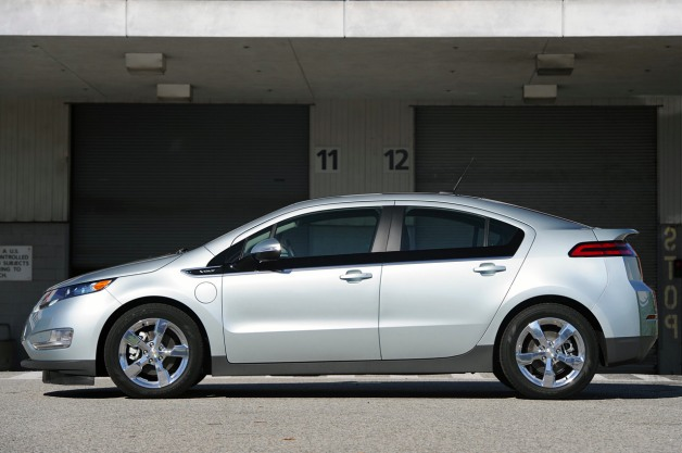 2011 Chevy Volt in profile