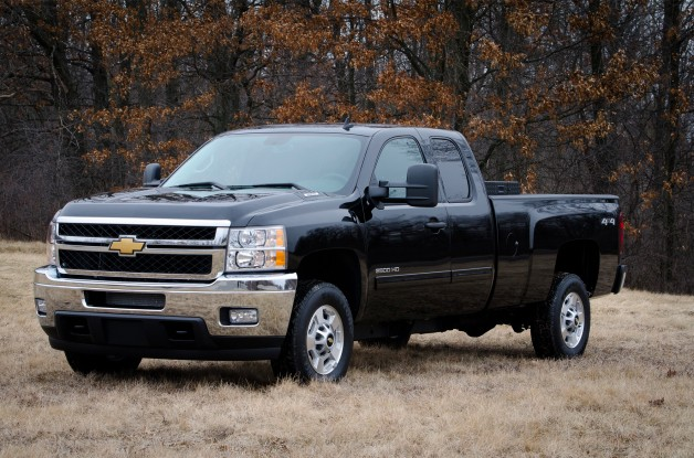 2013 Chevrolet Silverado bi-fuel