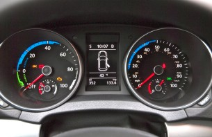 vw e-golf instrument cluster