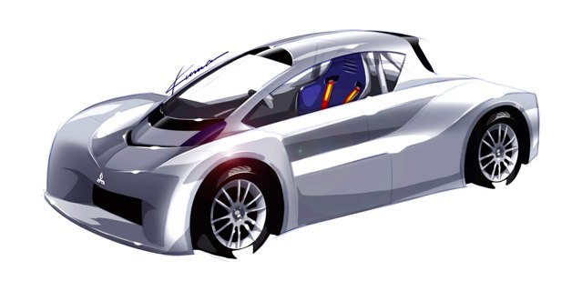 mitsubishi i-miev pikes peak