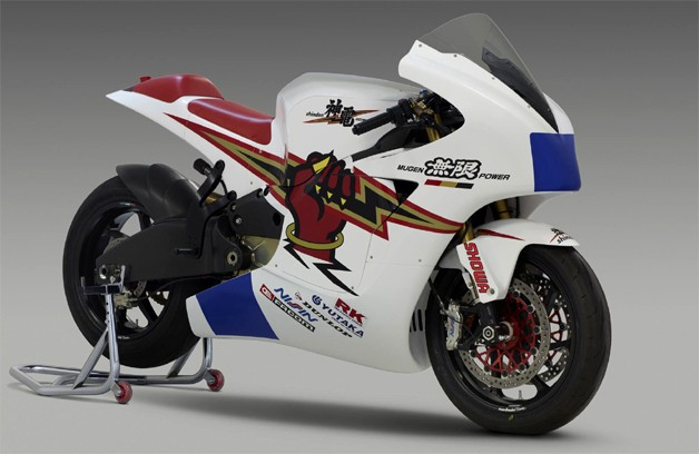 Mugen Shinden, an electric racing motorcycle