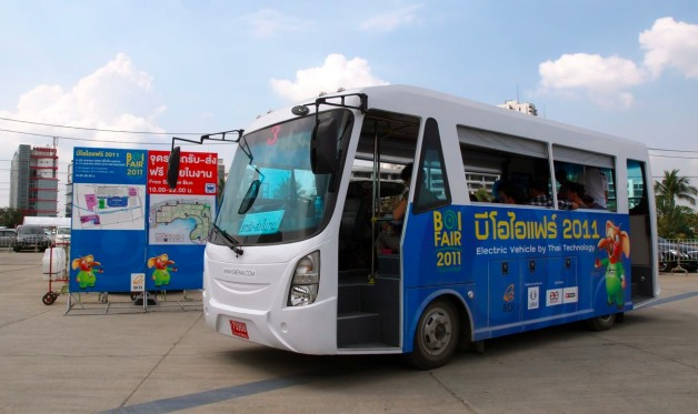 E4E electric bus in Thailand