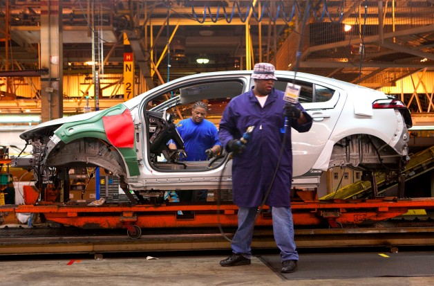 chevy volt production