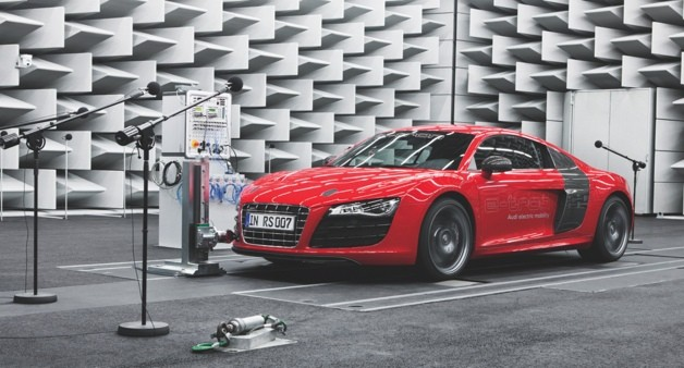 audi e-sound
