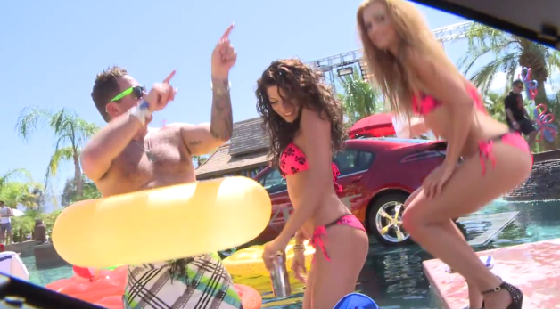 Voltchella: The Chevy Volt Pool Party
