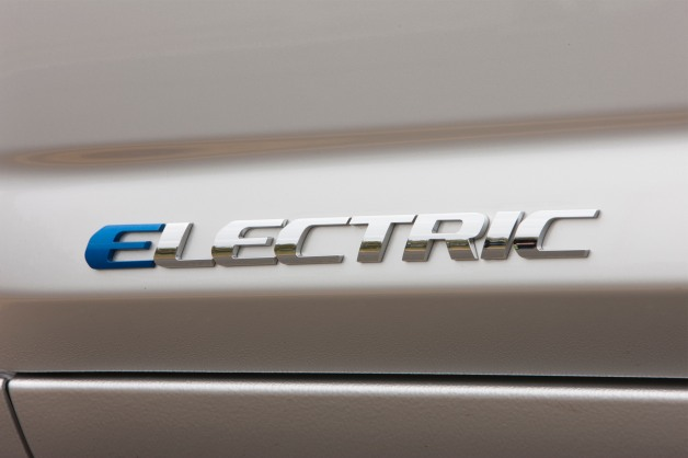toyota rav4 ev electric badge