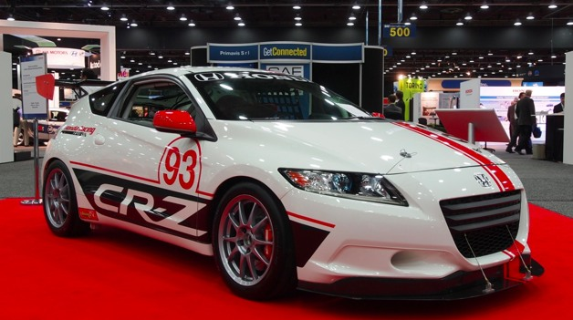 SAE World Congress 2012: Honda CR-Z Racer