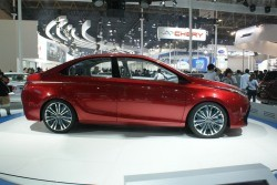 Toyota Dear Qin sedan concept - on display in Beijing