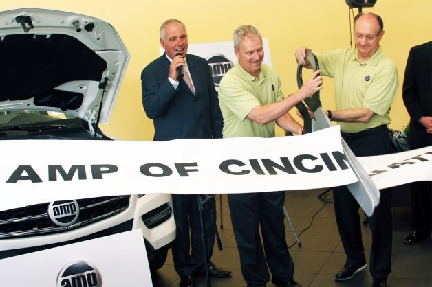 amp of cincinnati dealership opens