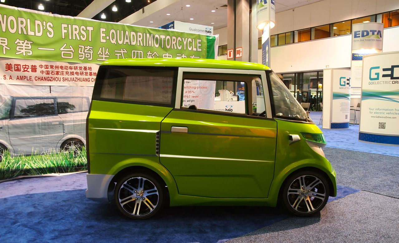 Evs Ample Eo Electric Vehicle Claims Quot World S First E