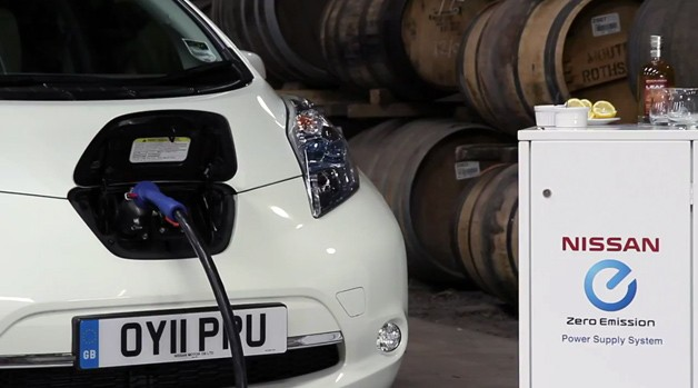 Nissan Leaf Scotch whisky