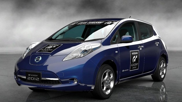 nissan leaf heads to the gt academy my nissan leaf forum. Black Bedroom Furniture Sets. Home Design Ideas