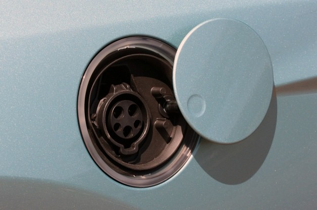 ford focus electric plug outlet