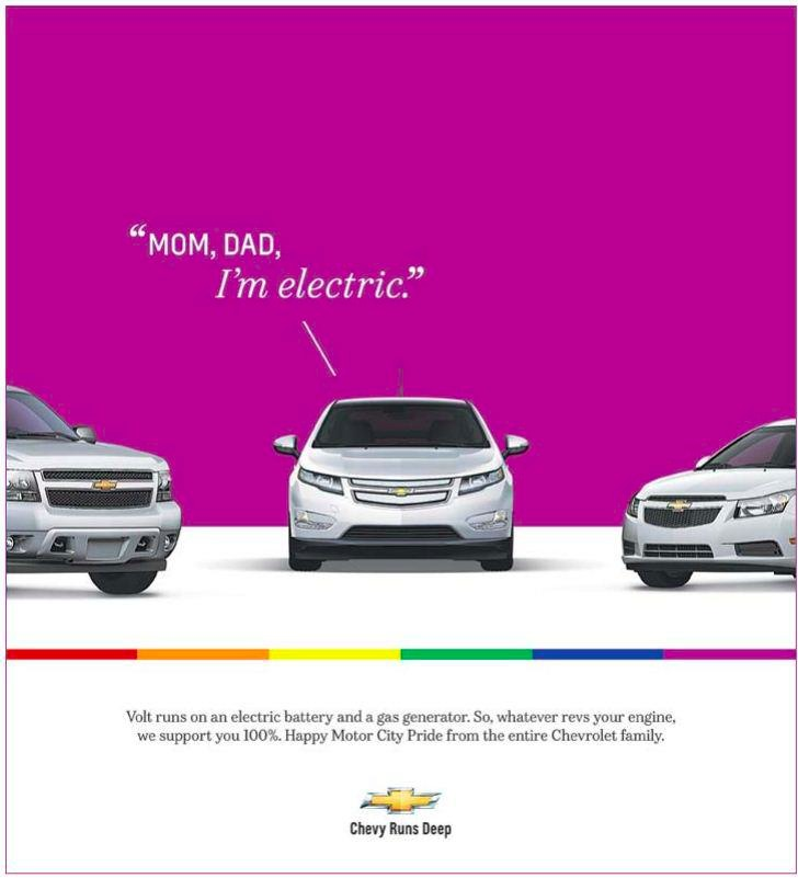 chevy volt gay ad Yes I purposely made it this big:) Thank you, lesbo!:D