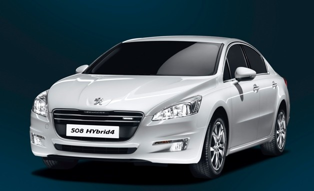 peugeot 508 hybrid4 uses diesel hybrid tech to achieve 65 mpg. Black Bedroom Furniture Sets. Home Design Ideas