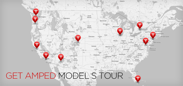 Get Amped Model S Tour