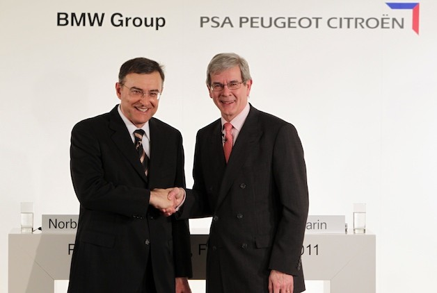 BMW PSA Peugeot Citroen