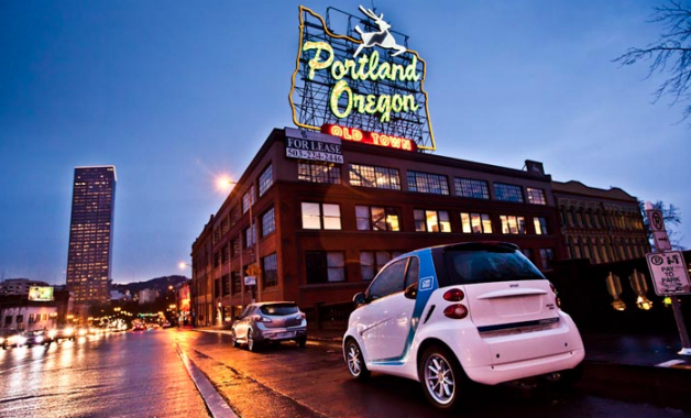 Search hundreds of travel sites at once for car rental deals in Portland