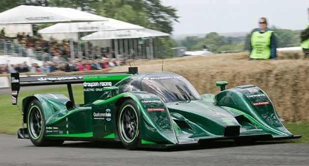 Lola-Drayson B12/69EV at Goodwood Festival of Speed