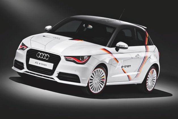 german olympic team audi etron