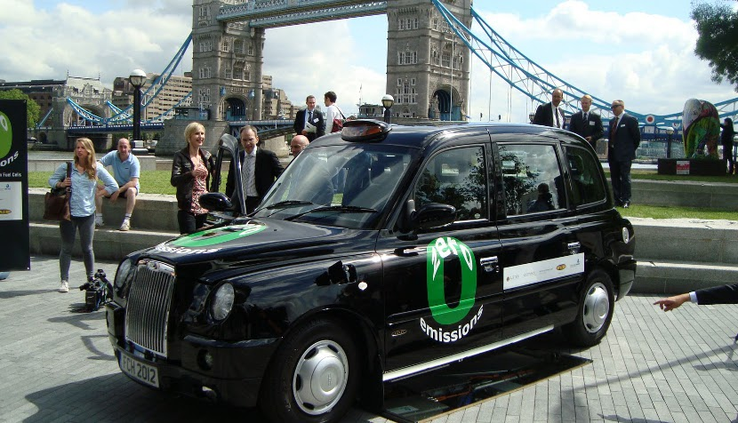 hydrogen london black cab