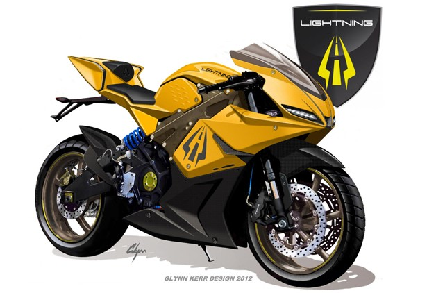 Lightning Motorcycles consumer bike sketch