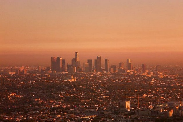 Didnt realize the level of smog in L.A