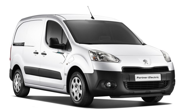 peugeot pitches all electric utility van the partner electrique. Black Bedroom Furniture Sets. Home Design Ideas