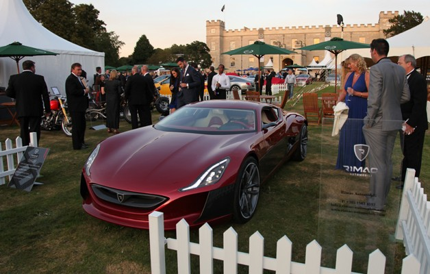 Rimac Automobili Concept One at Salon Prive