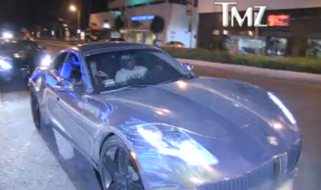 chrome fisker karma sean kingston justin bieber