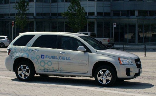 chevy equinox fuel cell