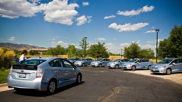 Colorado University Smart Grid project with Toyota Prius Plug-In fleet