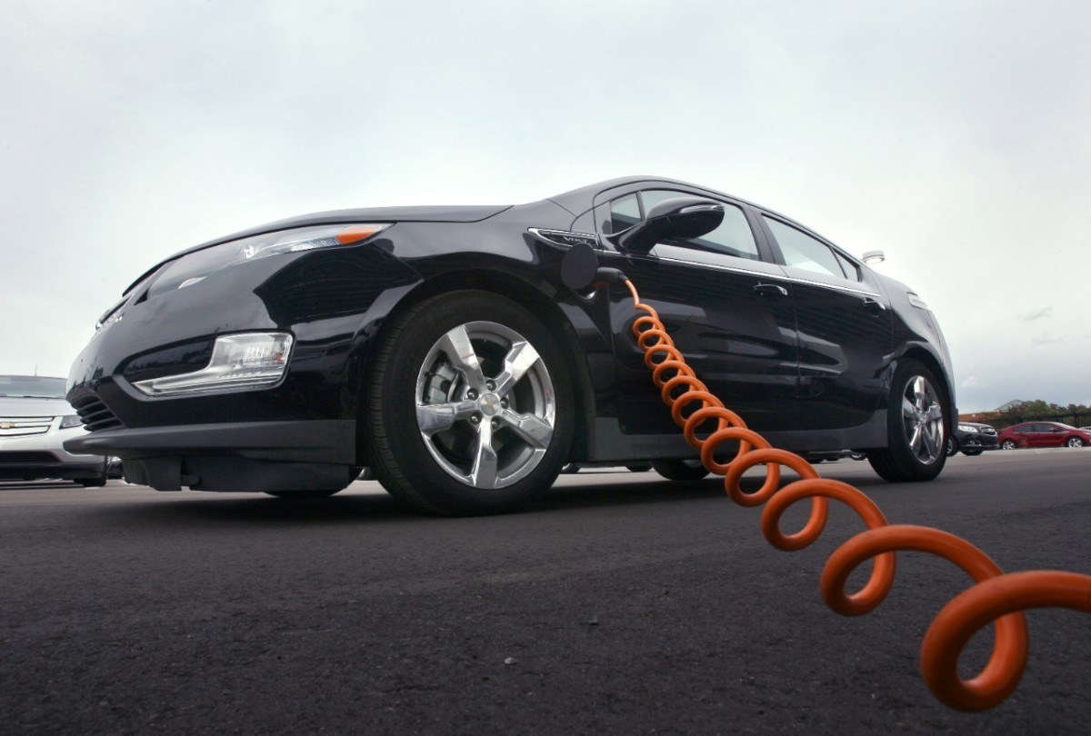A Chevrolet Volt Gets Charged Up