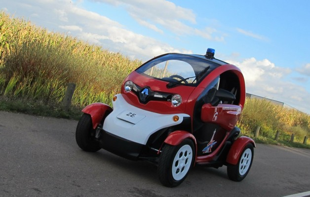 renault twizy firefighter