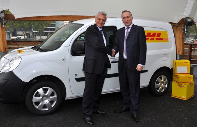 Renault and DHL reach EV agreement