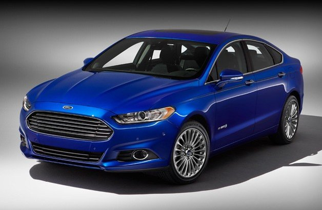 ford fusion hybrid titanium