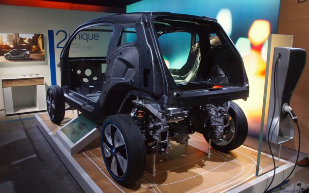 bmw i3 carbon fiber reinforced plastic body