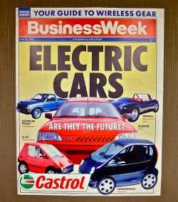 1994 businessweek cover electric cars are the the future