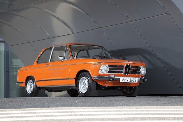 BMW's all-electric 1972 1602