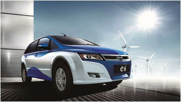 BYD's e6 EV to be used for Bogata taxi fleet