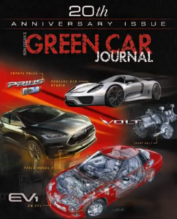 green car journal 20th anniversary