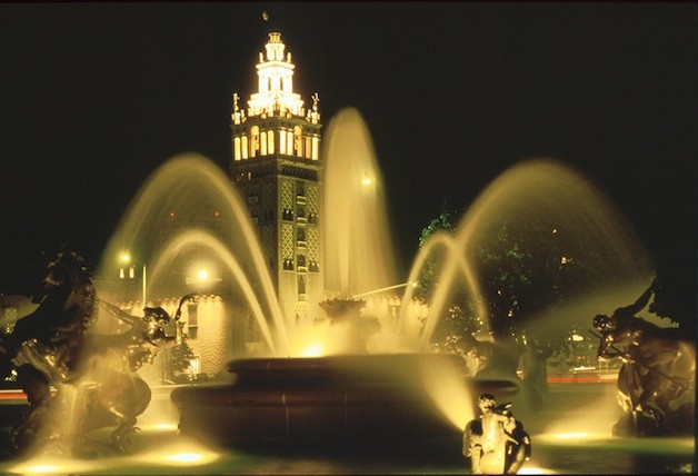 Kansas City's J.C. Nichols Fountain